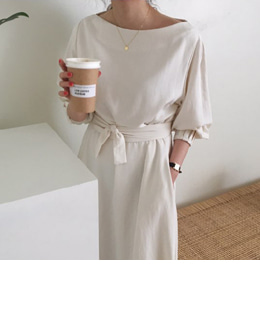 [당일출고] Dove dress (2color)