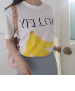 banana tee (2color)