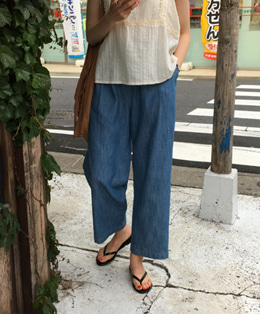 Muji pants (2color)