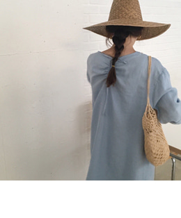 Oud dress (skyblue)