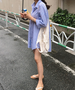 Yole shirt dress (3color)