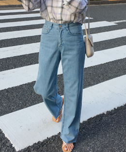 80's mood wide jean (light blue)