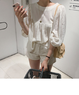 Davi blouse (2color)