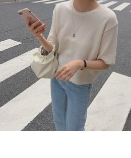 Une knit (ivory)