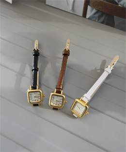 mini slim watch (3color)