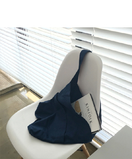[자체제작] FIRST ECO BAG_NAVY