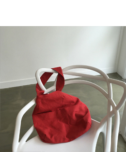 [자체제작] FIRST ECO BAG_DEEP RED