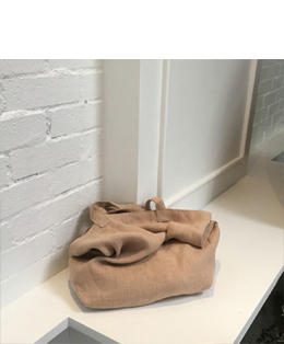 [자체제작] SECOND ECO BAG_BEIGE