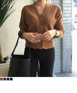 lams's wool soft cardigan (4color)