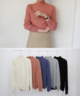 sweet color angora knit (5color)