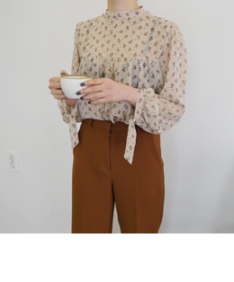 sweet bloom blouse (2color)