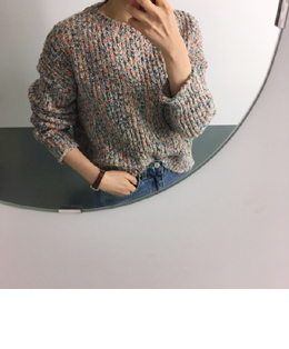 lovely candy knit (3color)